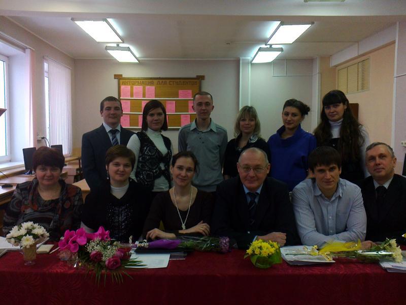 Состоялся первый выпуск группы заочного обучения специальности «