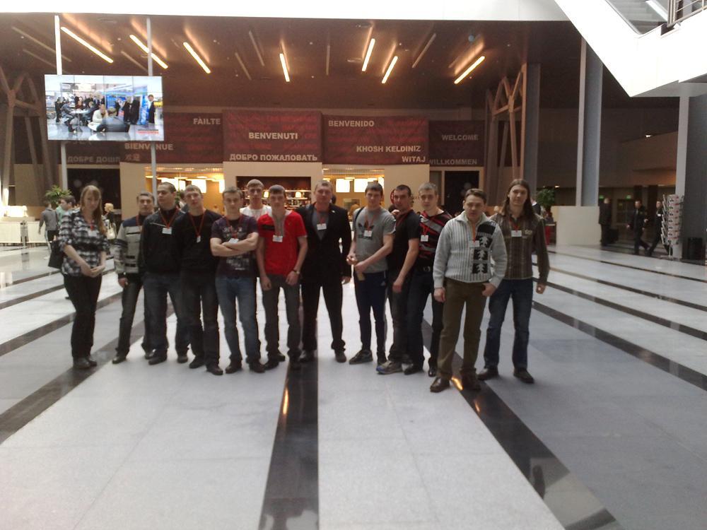 Студенты кафедры Сварочное производство посетили 14-ую междунаро