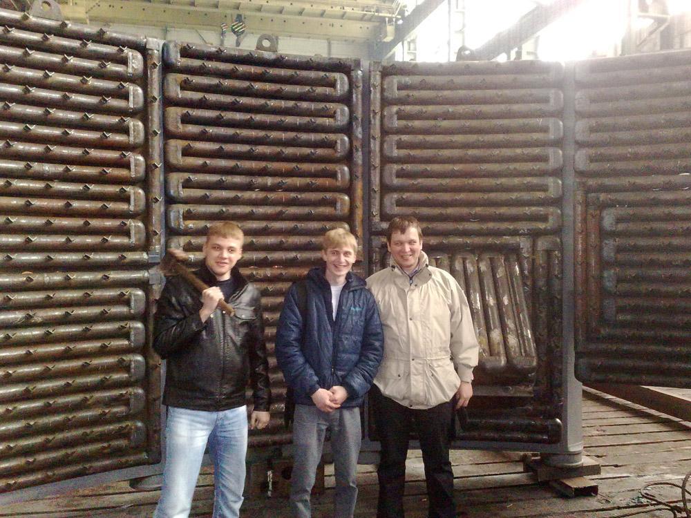 Экскурсия студентов кафедр «Сварочного производства» и «Технолог