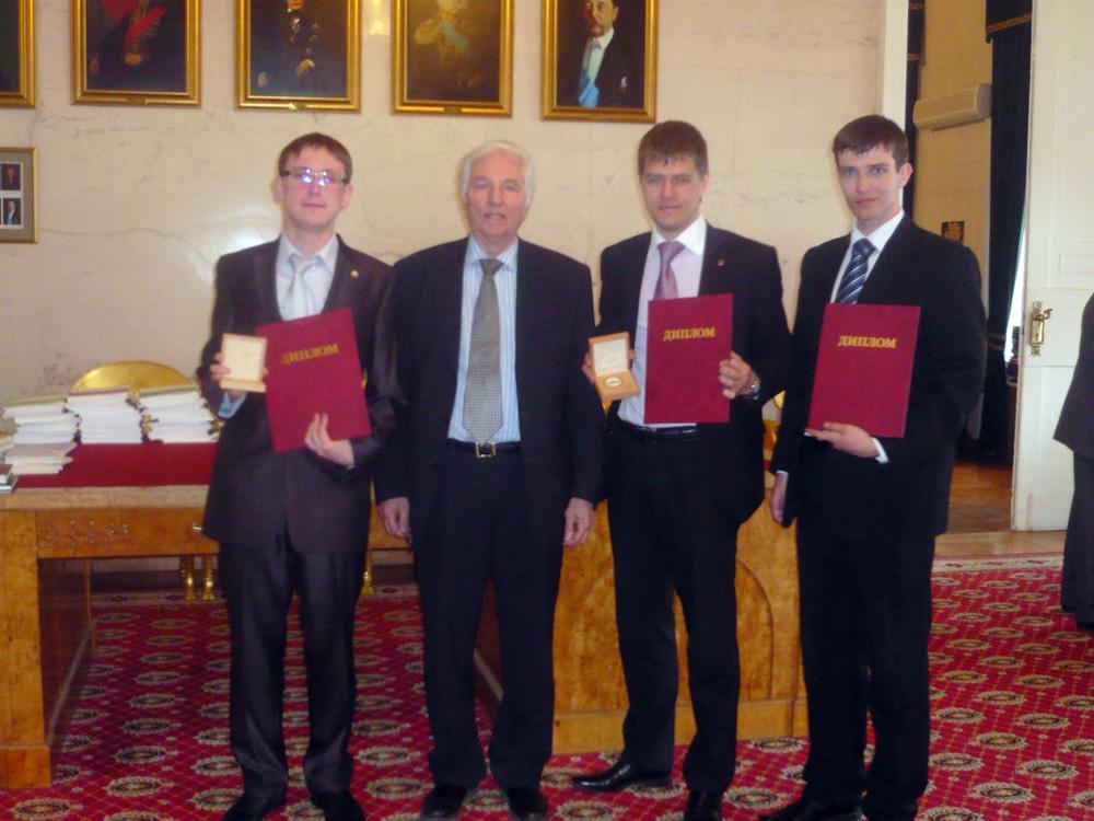 Впервые медаль Российской академии наук в Юрге.