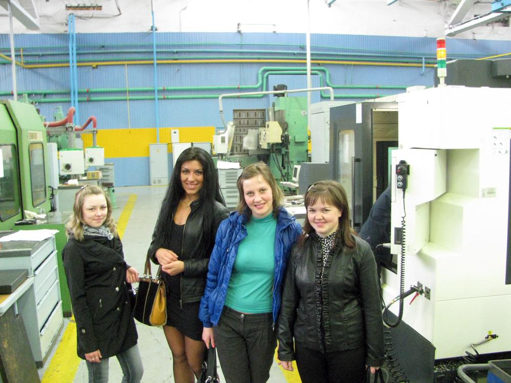 Экскурсия студентов кафедр «Технология машиностроения» и «Свароч