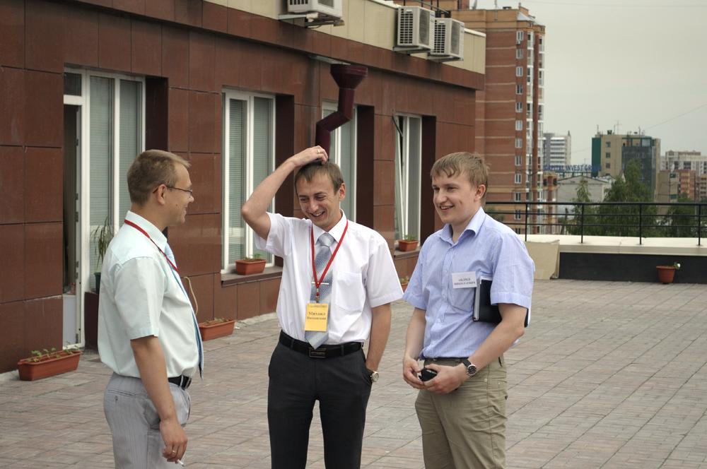 Экскурсия студентов кафедры  «Информационных систем» в ведущую к