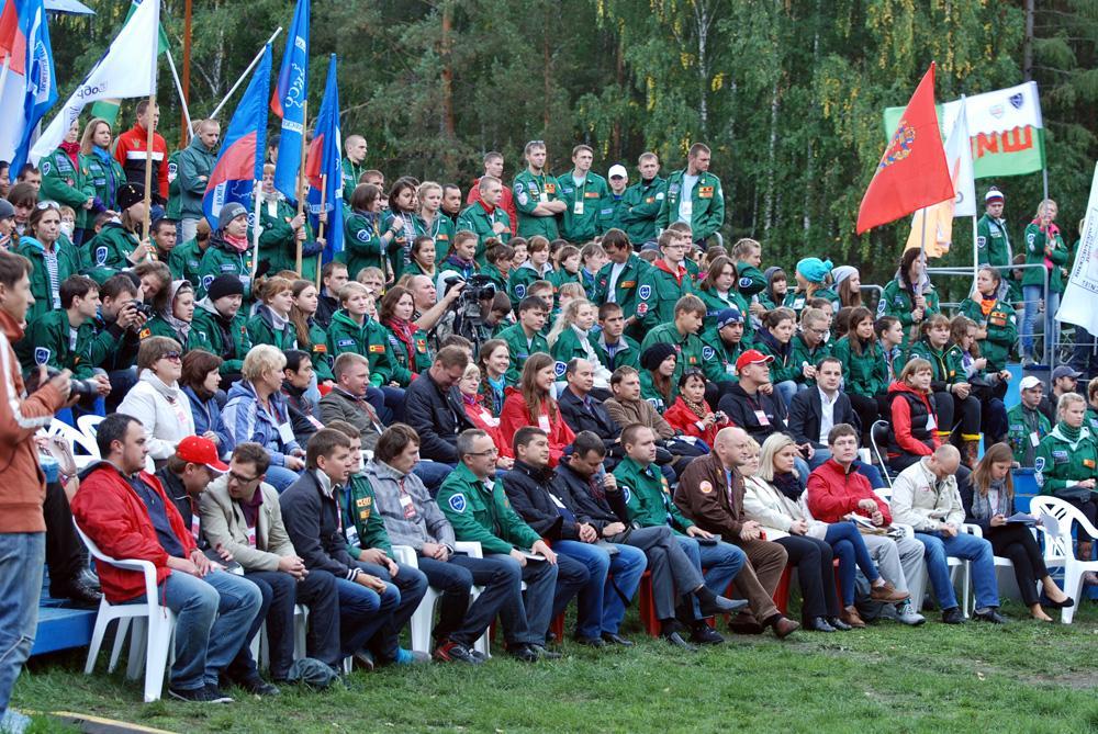 В период с 5 по 9 сентября 2012 года на Красноярском водохранили