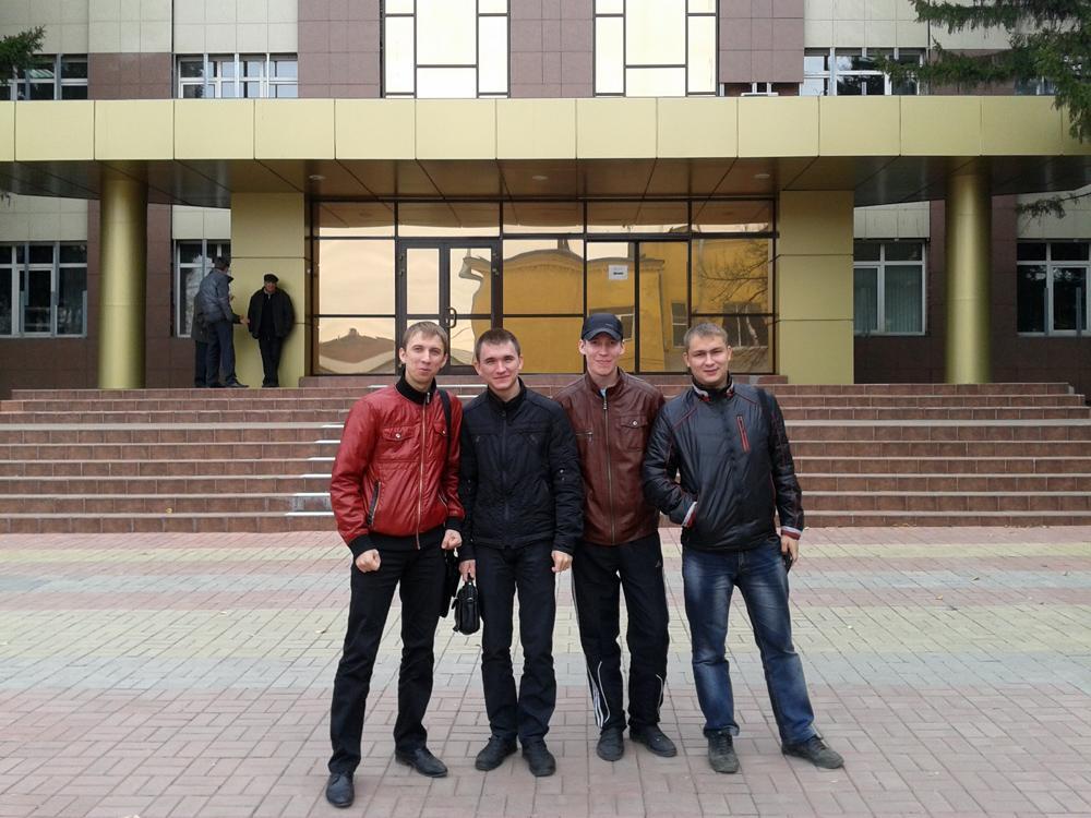 Встреча студентов специальности 150202 «Оборудование и технологи