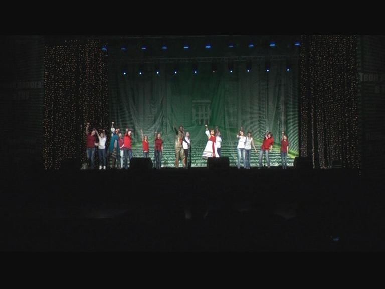Видеосюжет от 31.10.12 г. «Посвящение в студенты в г. Томск».
