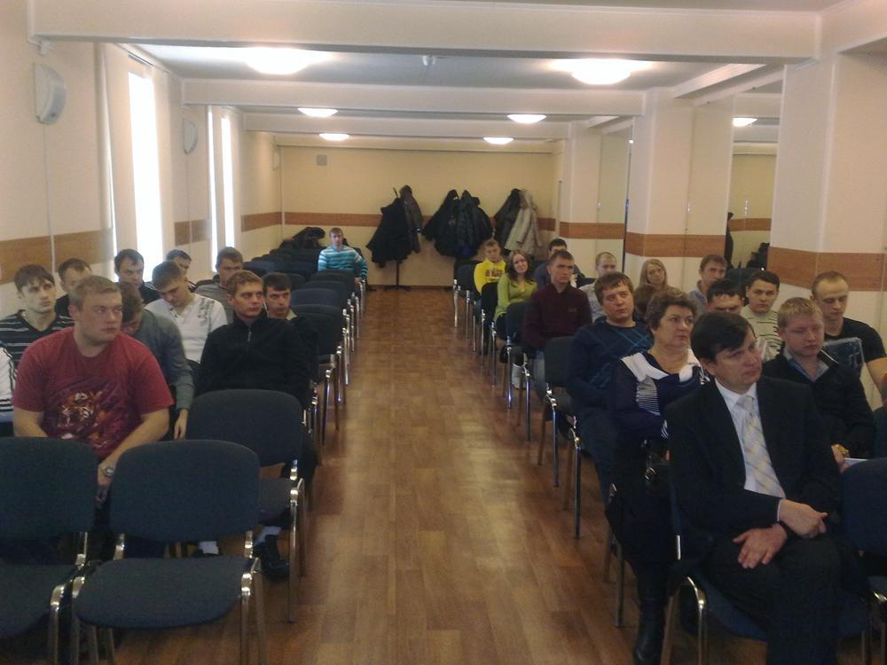 Встреча студентов гр. 10671, 10672 специальности 150202 «Оборудо