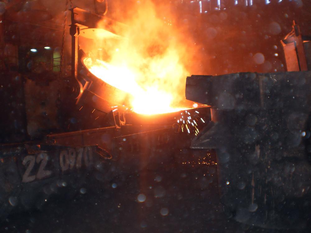 Открытый урок для металлургов.