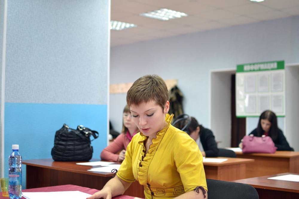 Сдача государственных выпускных экзаменов на кафедре ЭиАСУ.