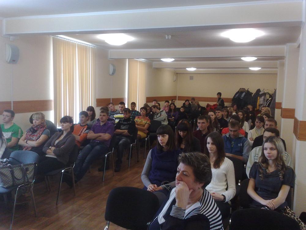 Презентация ОАО «Кузбассэнергосбыт» в ЮТИ ТПУ.