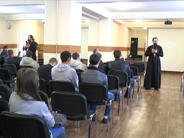 Видеосюжет от 17.11.12 г. «Третья встреча со священником храма «