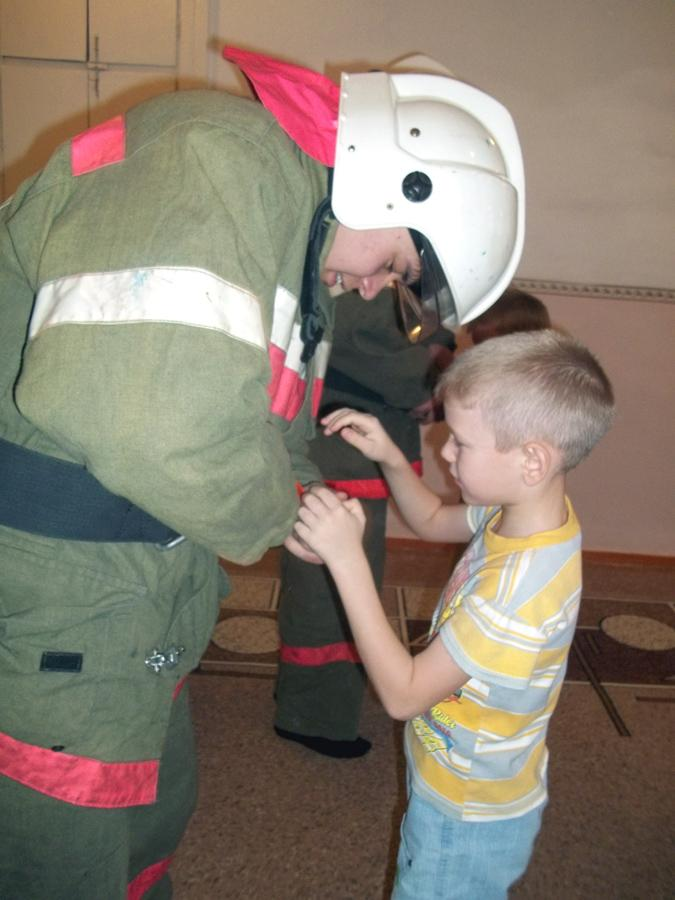 Уроки пожарной безопасности в детском саду.
