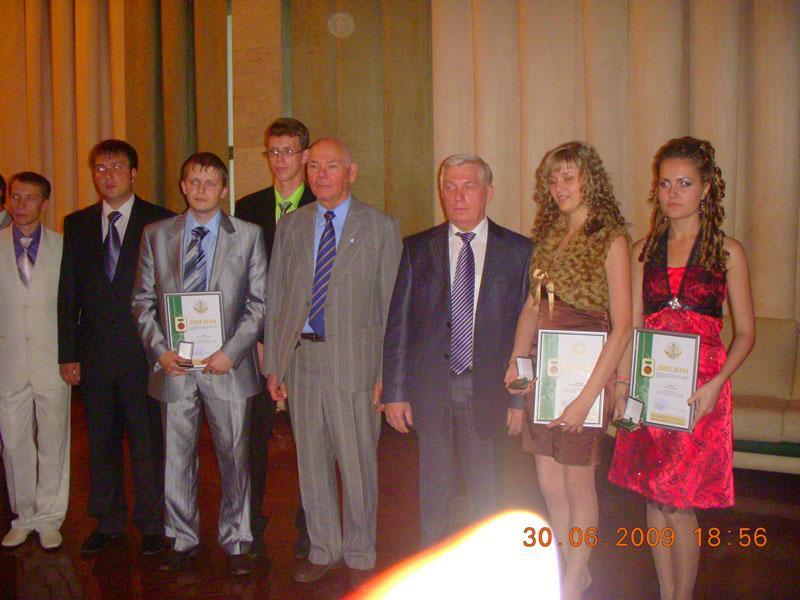 Церемония чествования выпускников, окончивших Томский политехнич