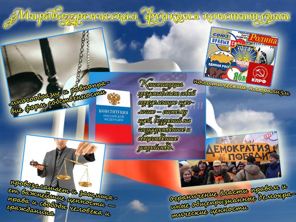День Конституции Российской Федерации.