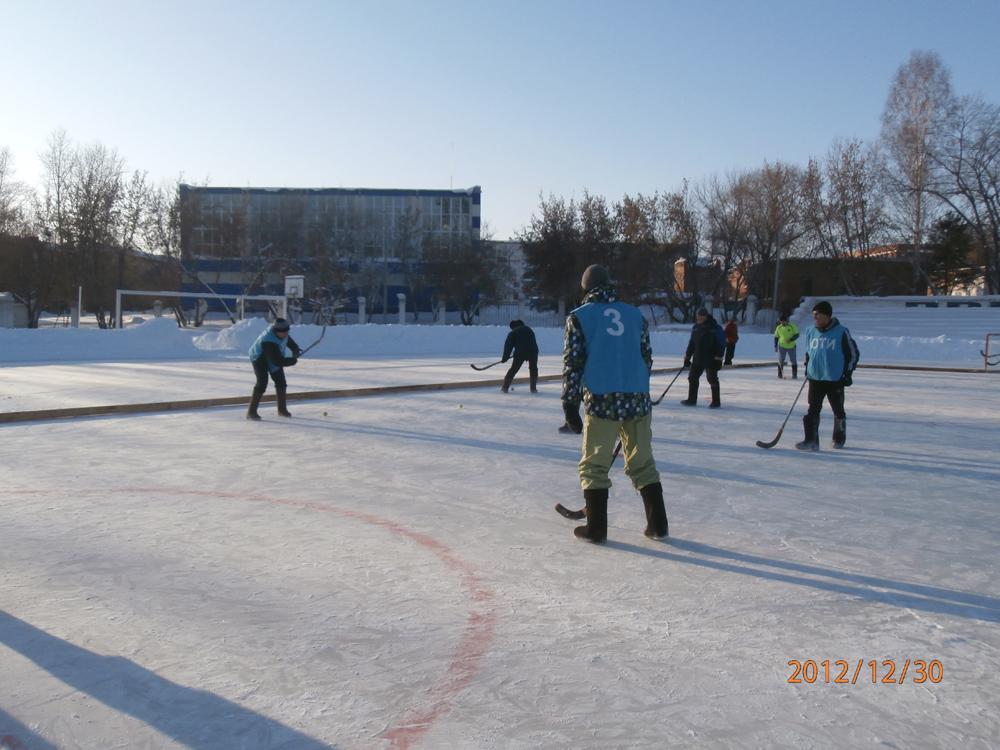 Команда ЮТИ ТПУ вице - чемпион турнира «Валенки на льду».