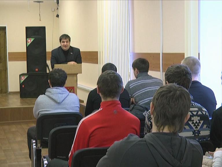 Видеосюжет «Встреча со студентами ЮТИ ТПУ с целью предотвращения