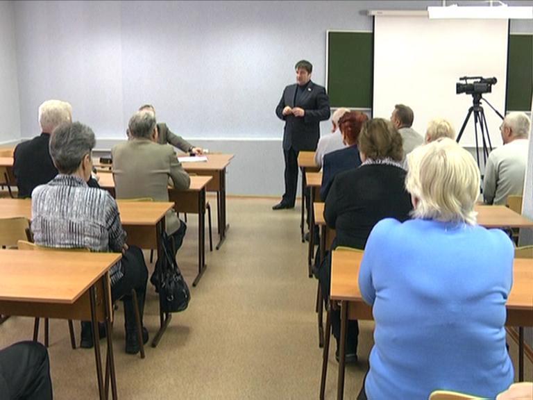 Видеосюжет от 25.01.13 г. «Пленум совета ветеранов В ЮТИ ТПУ».