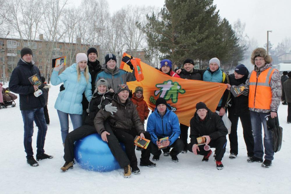 Команда ЮТИ ТПУ приняла участие в молодецких играх.