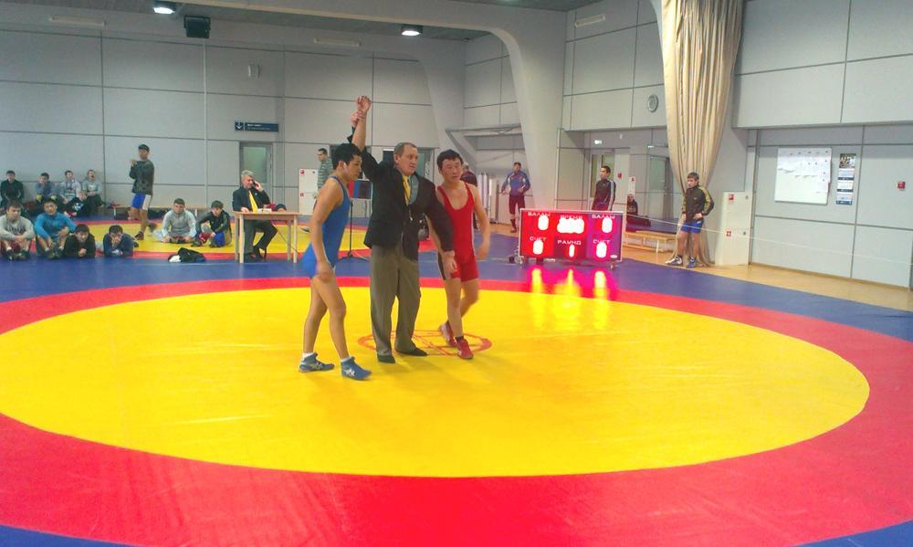 Успехи студентов ЮТИ ТПУ на областных соревнованиях по вольной б