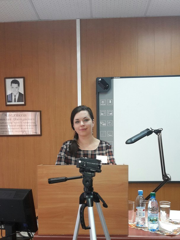 Блестящая защита старшего преподавателя кафедры ЭиАСУ Лощиловой