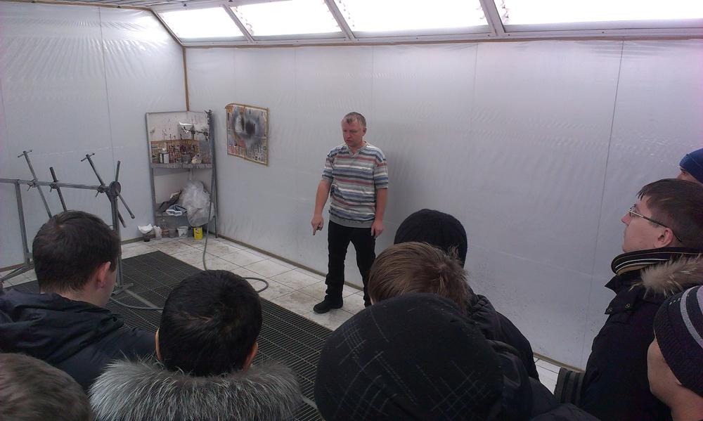 Экскурсия студентов направления «Агроинженерия» в мастерскую куз