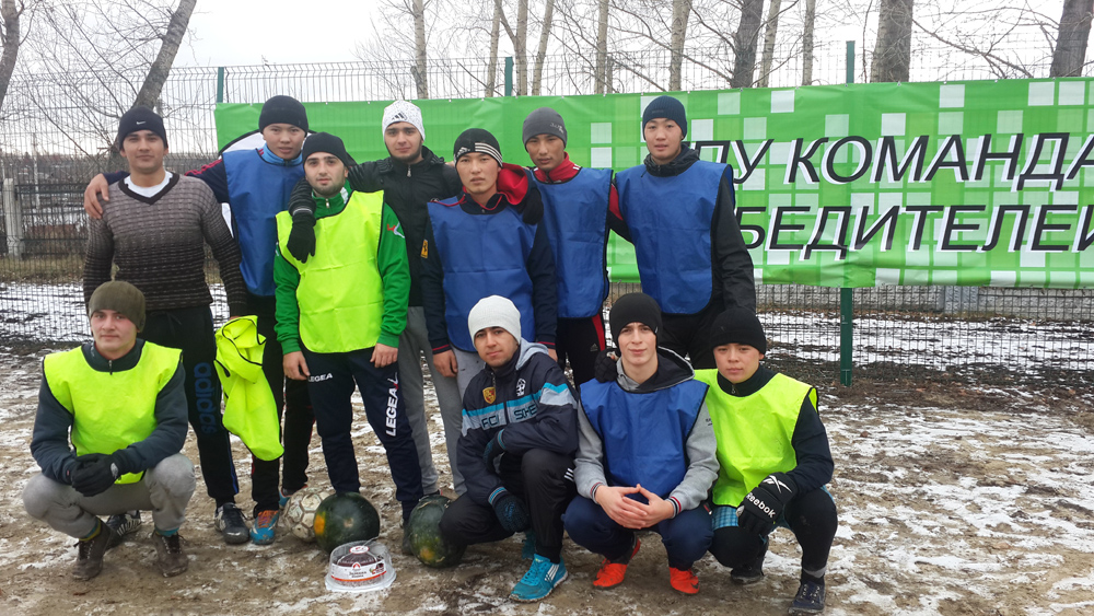 Финал спартакиады по мини-футболу
