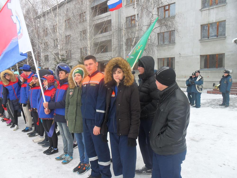 Соревнования среди студенческих спасательных отрядов Кемеровской
