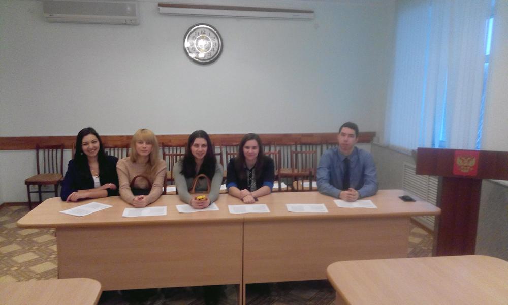Студенты из клуба «Экос Номос» нарабатывают опыт