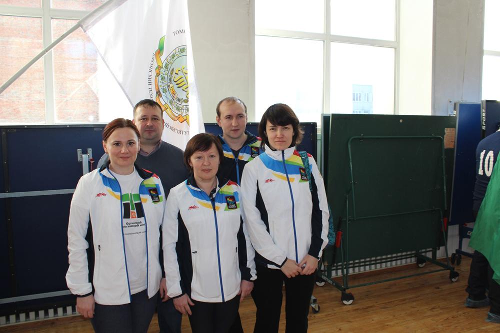 Участие команды ЮТИ ТПУ в областной Спартакиаде