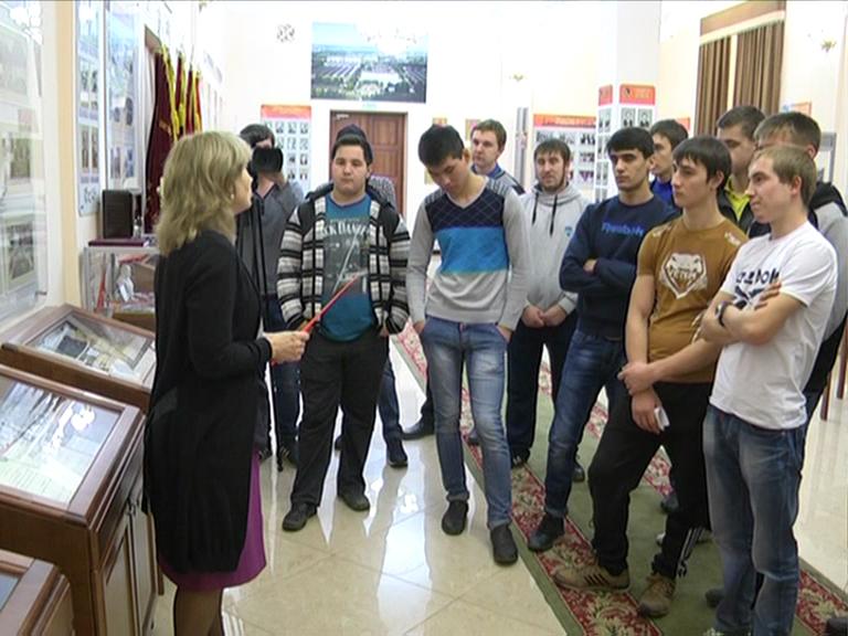 Видеосюжет от 30.11.15 г. «Студенты ЮТИ ТПУ посетили «Музей труд