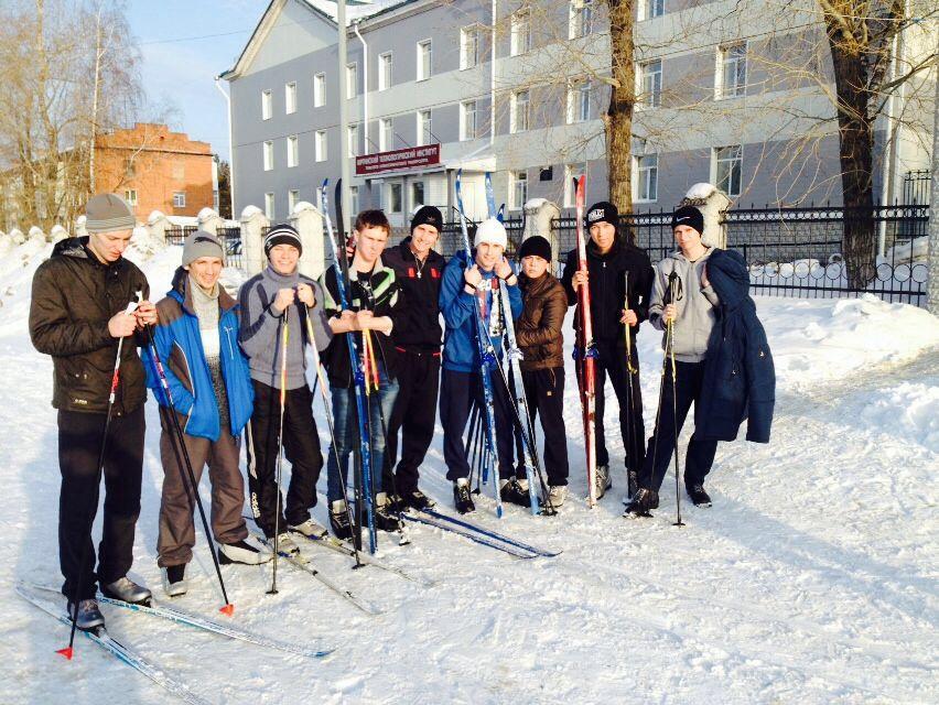Итоги лыжных гонок среди студентов ЮТИ ТПУ