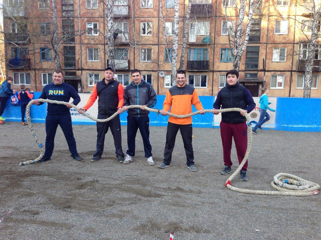 Команда ЮТИ ТПУ - бронзовый призер соревнований по перетягиванию