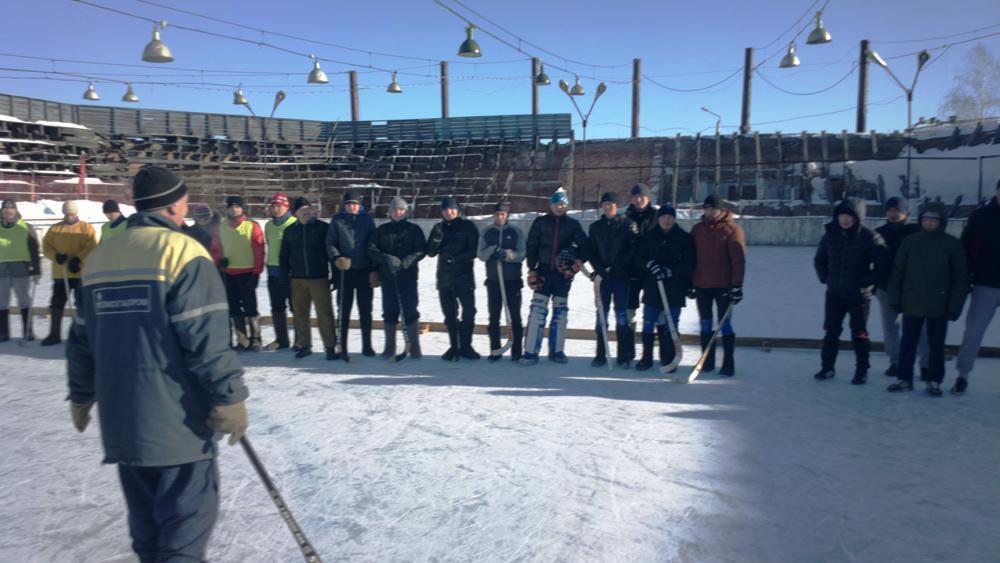 Команда ЮТИ ТПУ - чемпион открытого Чемпионата ДЮСШ-2 по хоккею