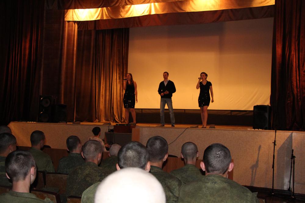 Концерт в Юргинском гарнизоне