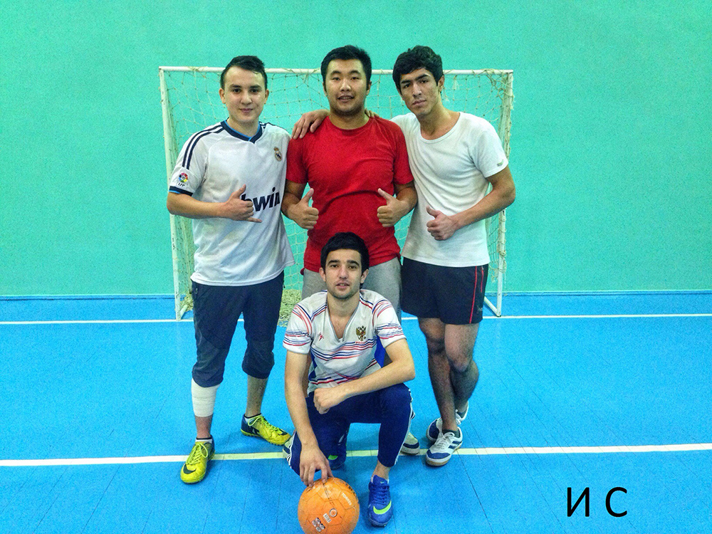 Турнир по футболу среди студентов, проживающих в общежитии