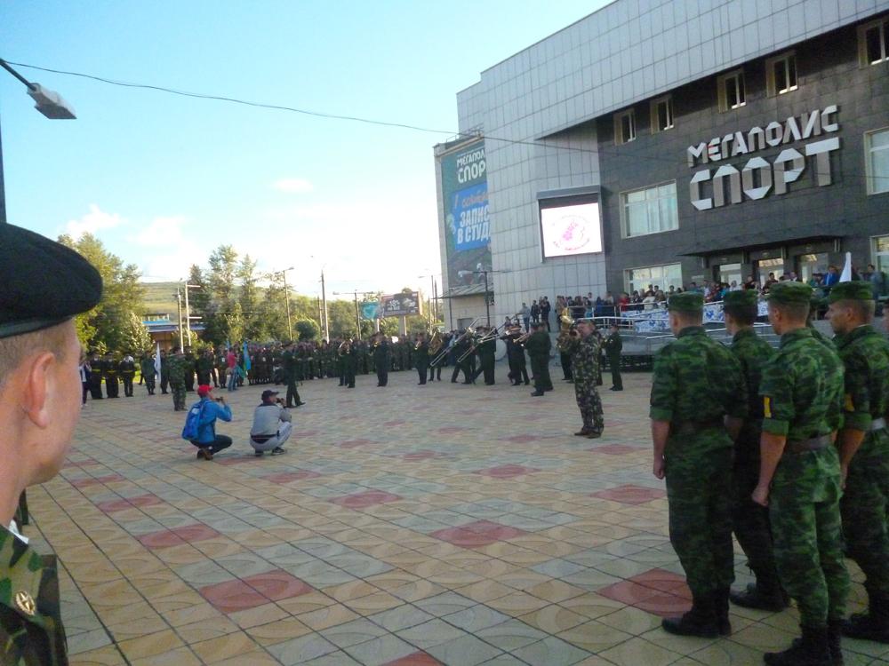 Участие команды ЮТИ ТПУ в III Всероссийской военно-патриотическо