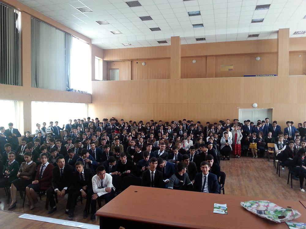 Политехническая олимпиада для абитуриентов  Республики Таджикист