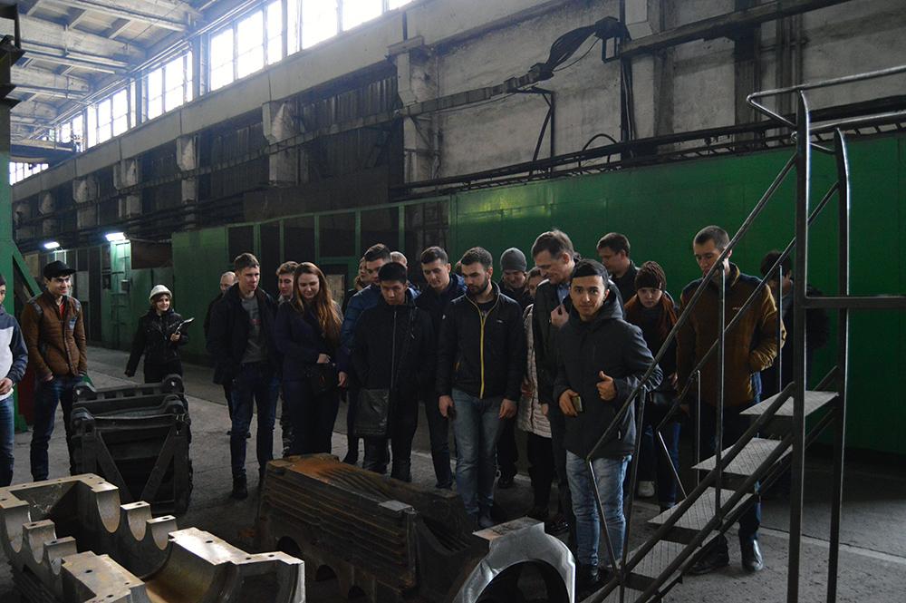 Экскурсия студентов ЮТИ ТПУ на ОАО «Анжеромаш»