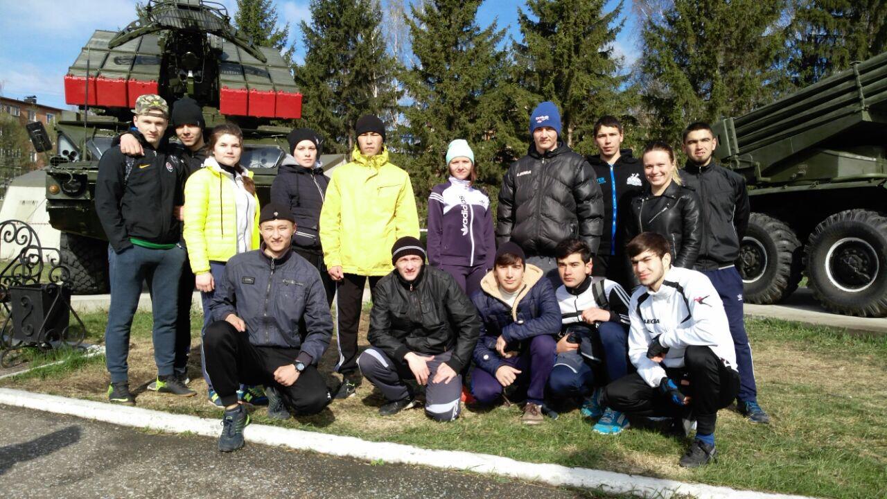 Легкоатлетическая эстафета, посвященная празднованию Дня Победы