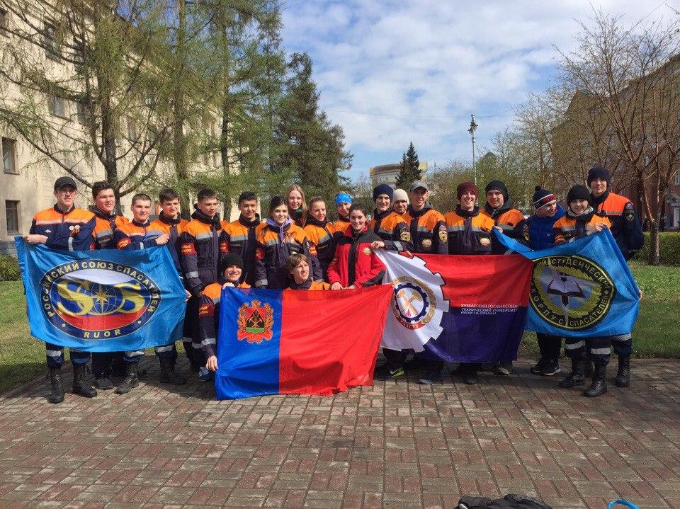 Участие студентов ЮТИ ТПУ в праздновании Дня Победы в городе Кем