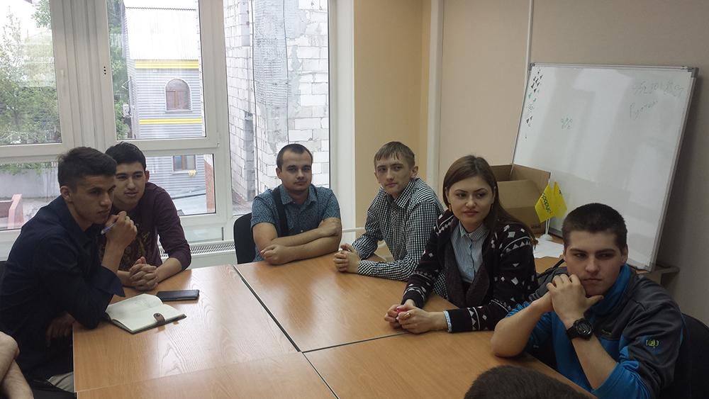 Экскурсия студентов в ведущие 1С-компании Томска