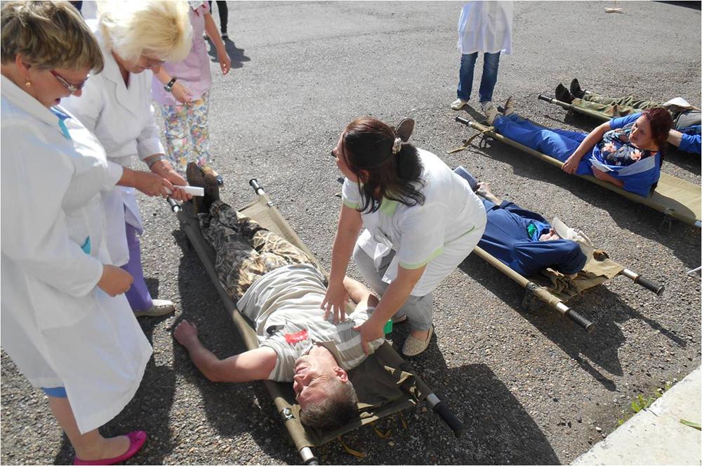 Участие студентов ЮТИ ТПУ в комплексном учении спасательной меди