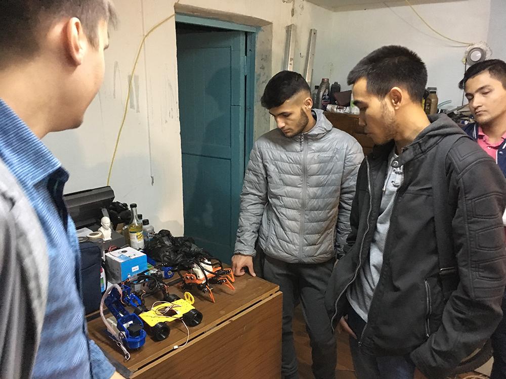 Экскурсия студентов кафедры Сварочного производства в студию диз