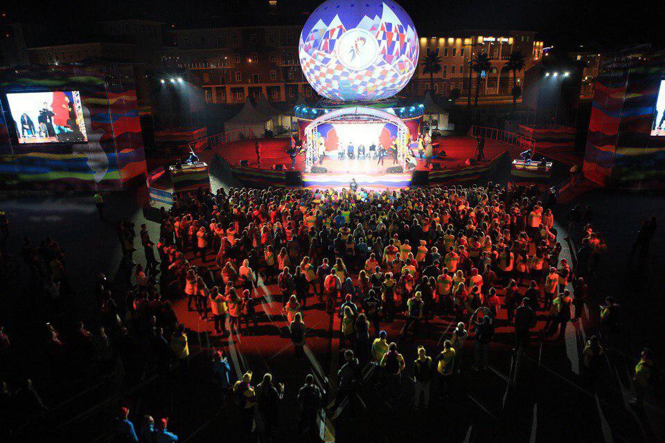 19-ый  Всемирный фестиваль молодежи и студентов в Сочи