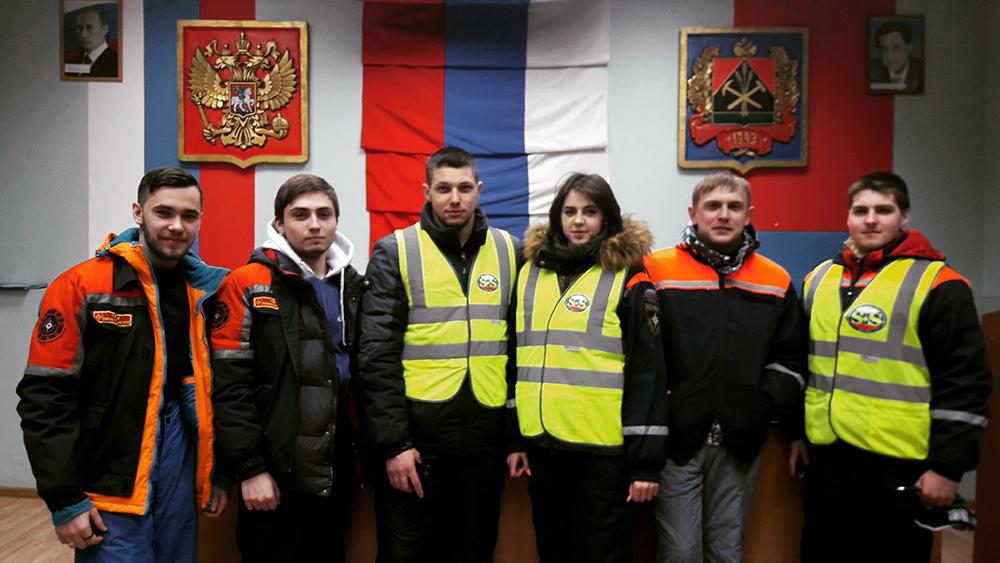 Участие студентов ЮТИ ТПУ в поисково-спасательных работах в горо