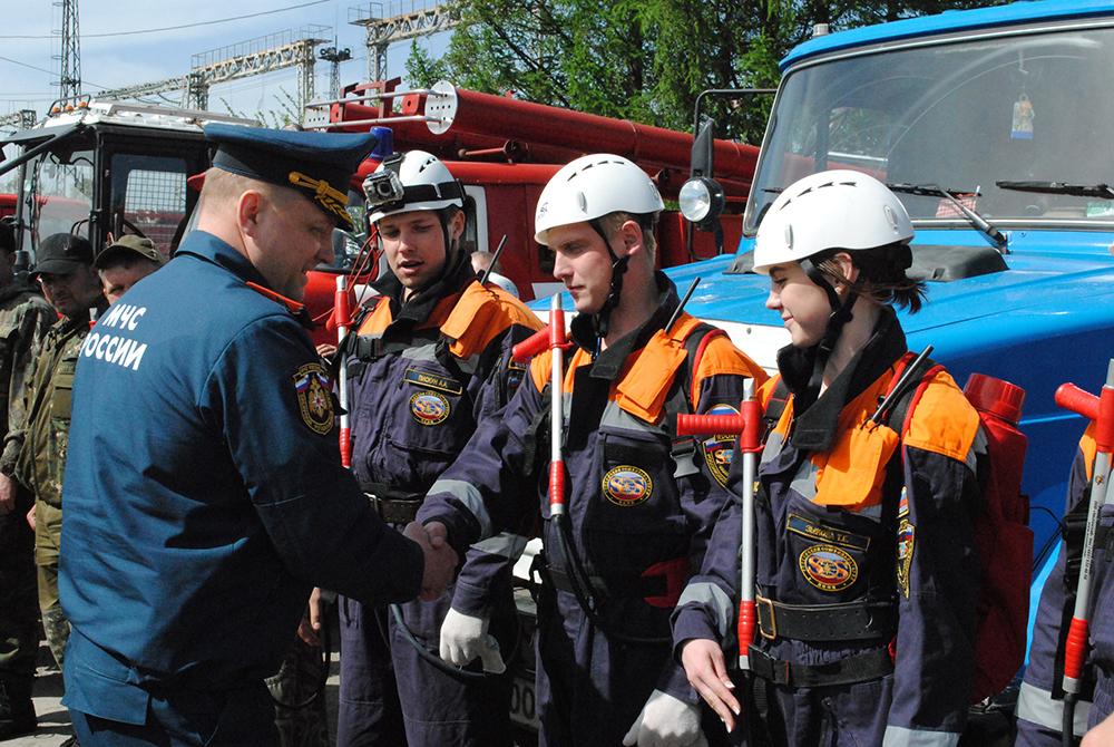 Обучение по программе «Пожарный спасатель»