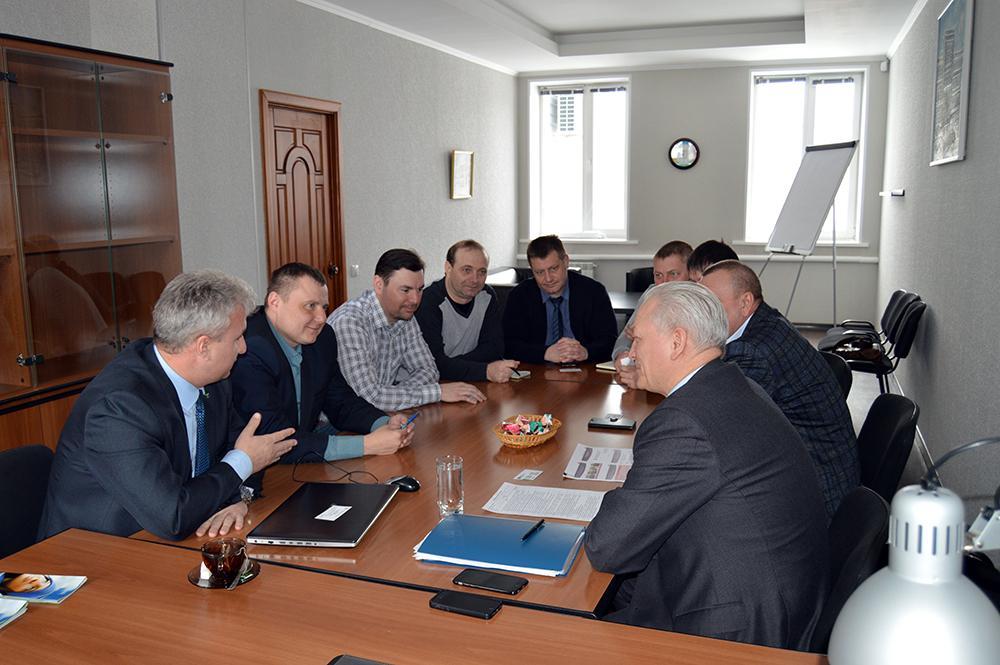 Рабочая встреча в ЮТИ ТПУ