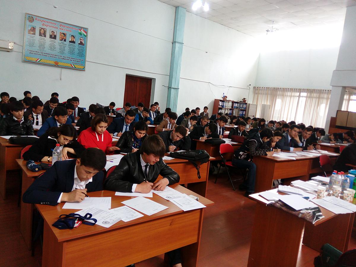Политехническая олимпиада в г. Душанбе РТ