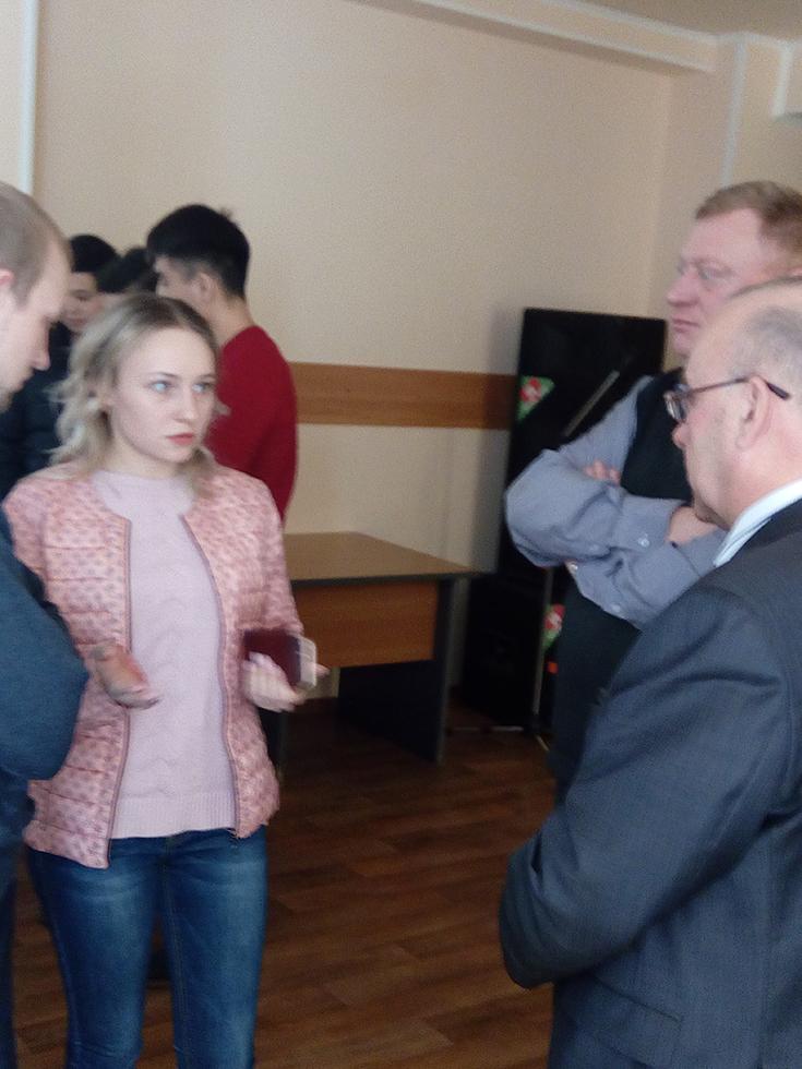 Встреча студентов с представителями ОАО «Анжеромаш»