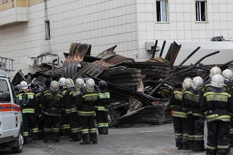 Участие студентов ЮТИ ТПУ в аварийно-спасательных работах в ТРЦ
