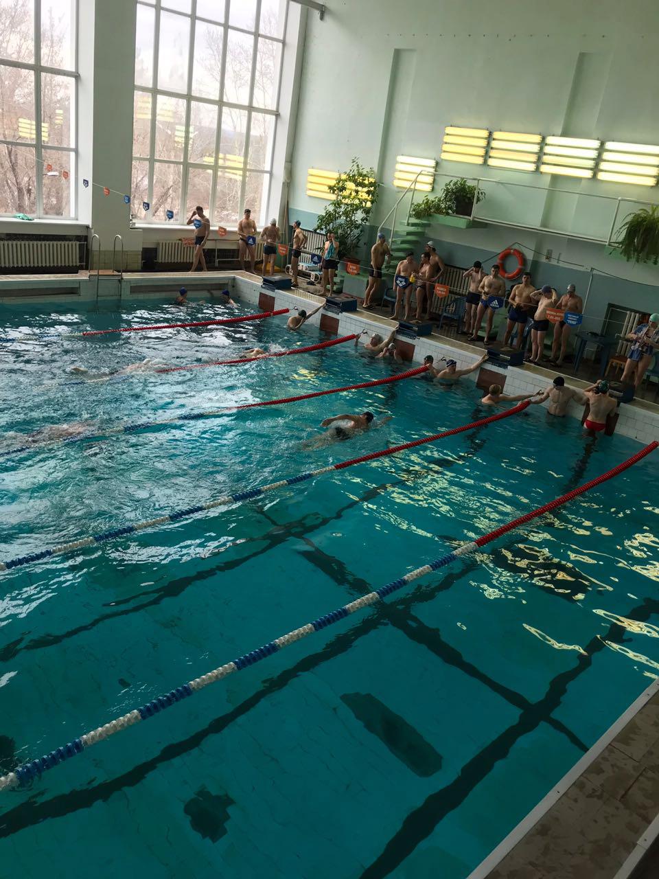 Итоги соревнований по плаванию